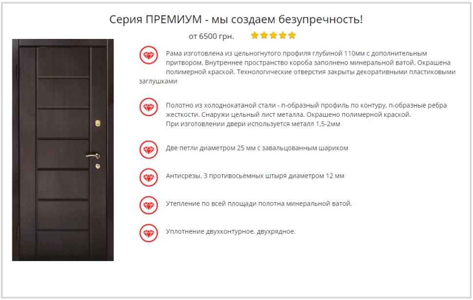 Дверь Портала Премиум