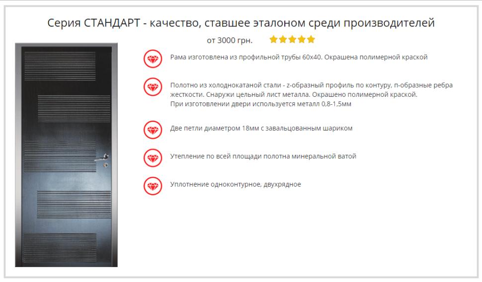 Дверь Портала Стандарт