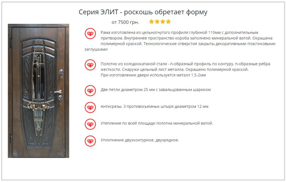 Дверь Портала Элит